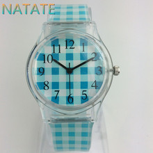 NATATE Willis Fashionable Brand women Mini watch lattice Pattern Design Water Resistant Analog Wrist Watch 1150