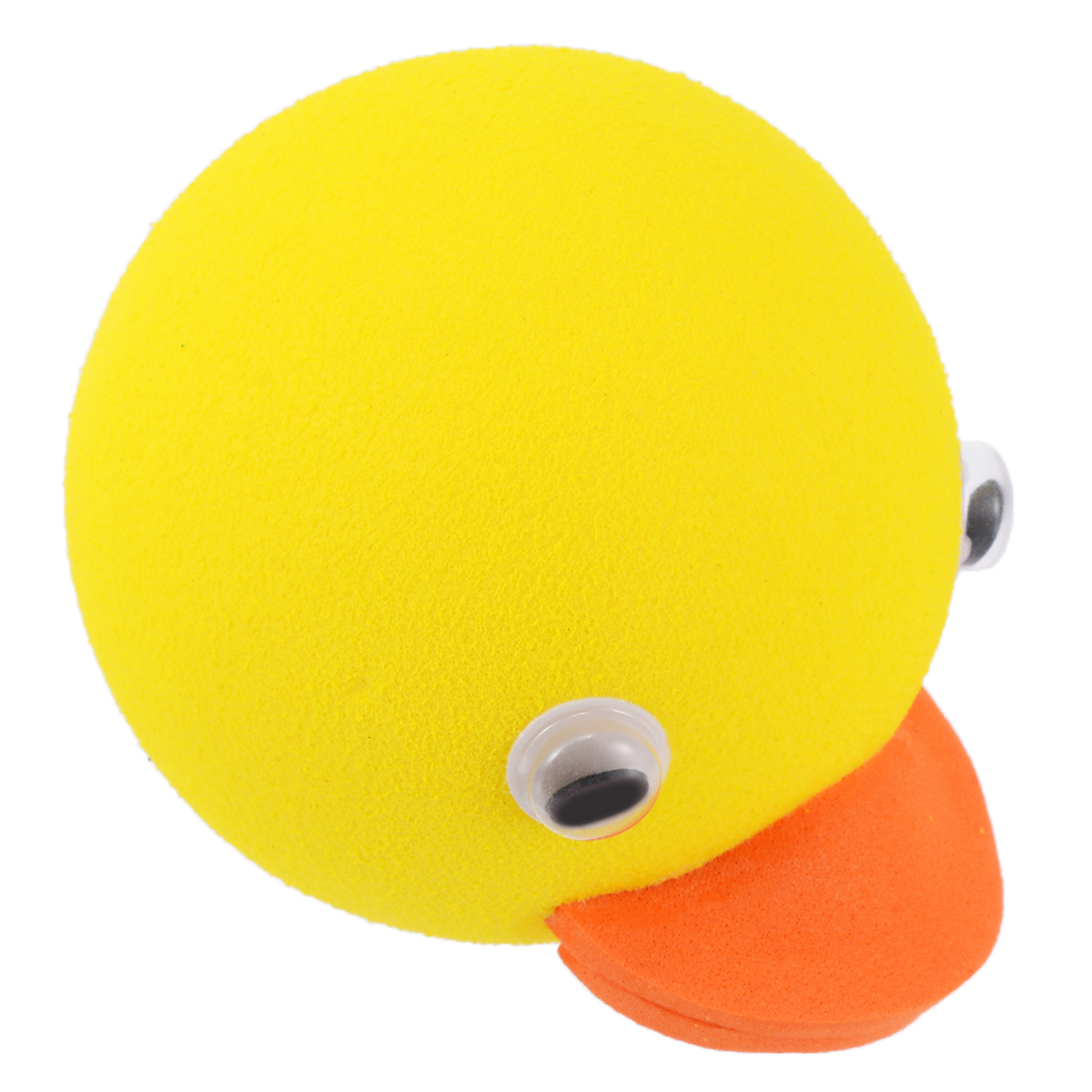 1pcs Lovely Cute Yellow Duck Auto Car Antenna Pen Topper Aerial Ball Decoration Gift Toy Roof Decorative Accessories