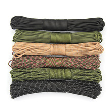 31m Paracord 550 Parachute Cord Lanyard Rope Mil Spec Type 7Strand 100FT Climbing Camping Survival Equipment Reflective