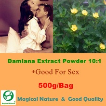 500g High Quality Natural Herbal Product Damiana Extract Powder 10:1(China)
