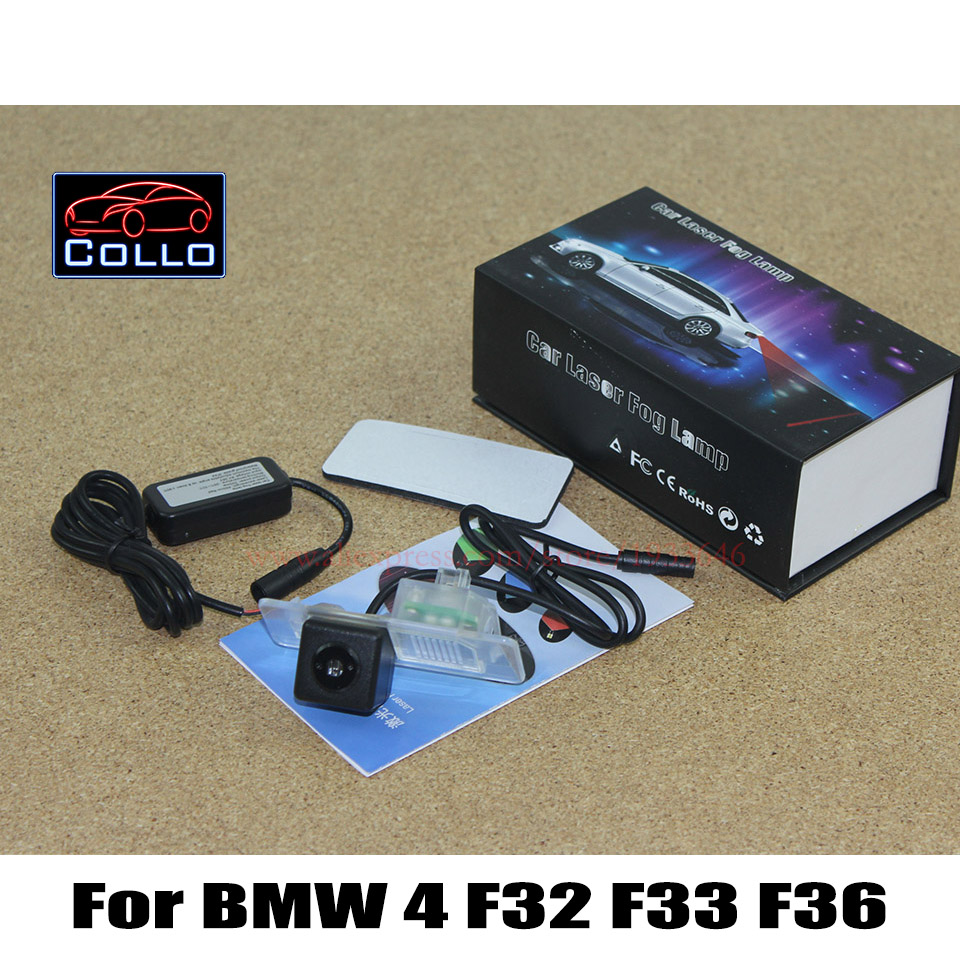 Newest Car Laser Rear Fog Lights / For BMW 4 F32 F33 F36 / M4 F26 2014 2015 / Car-Styling 12V LED Vehicle Collision Warning Lamp<br><br>Aliexpress