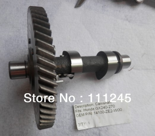 CAM SHAFT  FOR HONDA GX240 GX270 8 ~ 9HP ENGINE FREE POSTAGE CAM SHAFT ASSY GENERATOR WATER PUMP TILLER REP. P/N 14100-ZE2-W00<br>