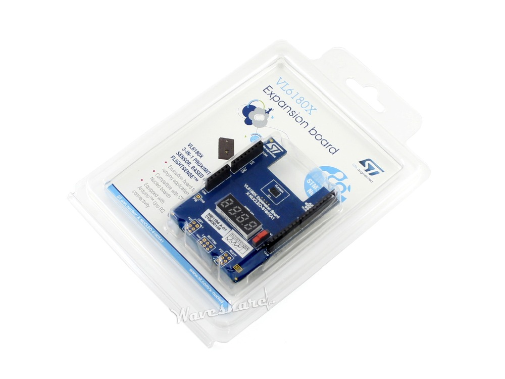 Parts X-NUCLEO-6180XA1 STM32 Proximity and ambient light sensor expansion board based on VL6180X Free shipping<br>