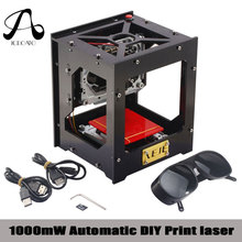 Icroato CNC Machine 1000MW NEJE 1000mW Automatic DIY Print laser engraver mini USB Engraving Machine Off-line Operation