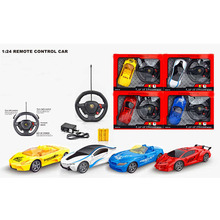 LeadingStar Mini RC Car Rastar Commander 1:24 RC Car Electric 4CH RC Toys Radio Controlled Sports Car Toys for Children