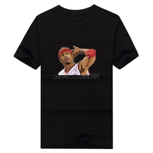 Men Philadelphia The answer #3 Allen Iverson T-shirt Clothes T Shirt Men's for 76ers fans gift o-neck tee W0317012