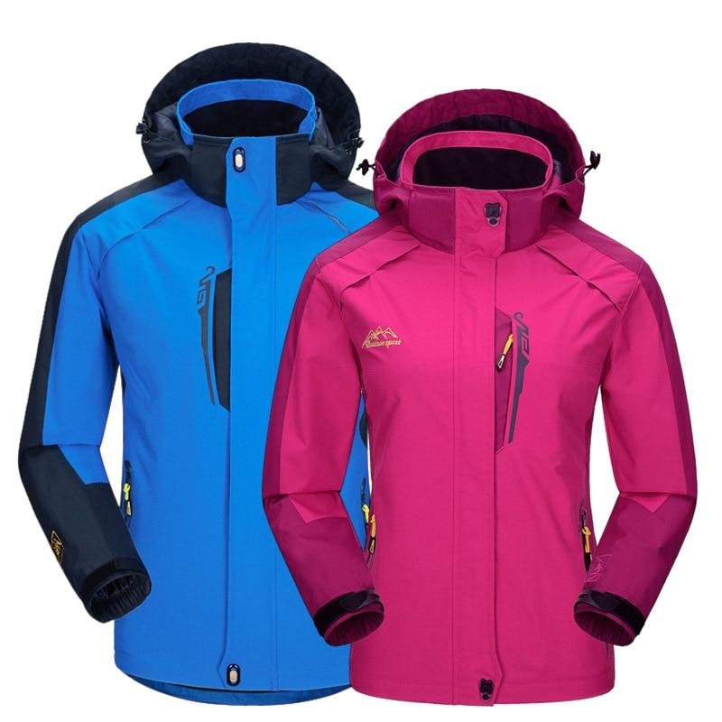 New Spring Autumn Men Women Jacket Outdoor Hiking Coat Jaqueta Camping Sport Windbreaker Jackets Waterproof Windproof Clothing<br><br>Aliexpress