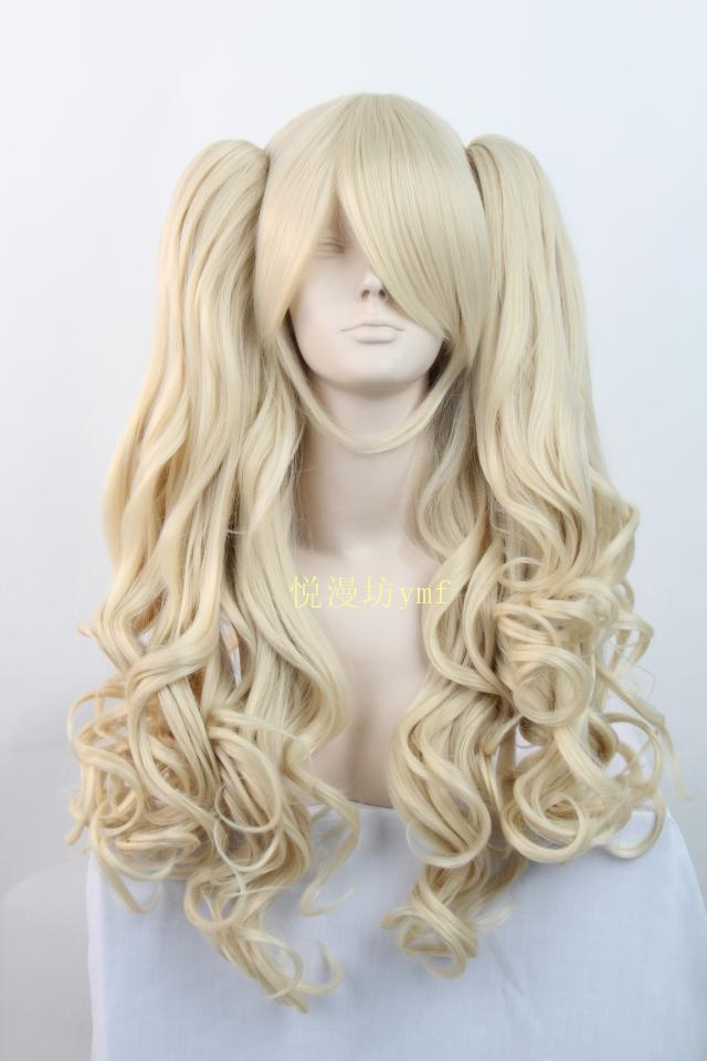 Lolita 2*65cm Long Wave Beige Cosplay Costume Wig,Synthetic Heat Resistance Hair.Free shipping<br><br>Aliexpress
