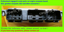 For car engine computer board/ME7.8.8/ME17 ECU/Electronic Control Unit/Dongfeng Peugeot Citroen Elysee/0261S04190/9665412180(China)
