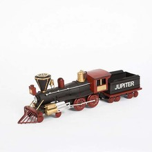 1 Piece Vintage Creative Train Model Metal Rural Wind Educational Children Classic Toys Collection Art Crafts Baby Toys