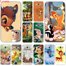 Sika deer Bambi Hard Case Cover for Samsung Galaxy A3 A5 J3 J5 J7 2015 2016 2017 & Grand Prime Note 2 3 4 5