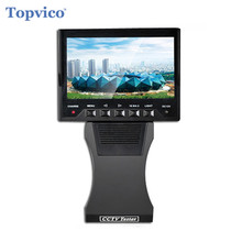 Topvico CCTV Tester AHD Analog Camera Tester 1080P 12V Output RJ45 Lan Network Cable Tester Video Surveillance CCTV Accessories