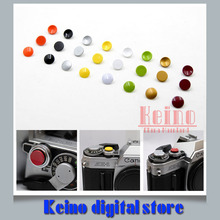 1 Lots Camera Mechanical Shutter Release Button Crimson Color (Flat Concave Convex) for Fujifilm X100 X100s X100t X30 M9 E-E2