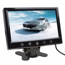 9 Inch Remote Control TFT LCD Car Monitor Color Screen Car Rear View Monitor With 2 Video Input