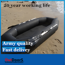 Professional fishing boat inflatable boat dinghy boat road Asia Belgium road sub boat
