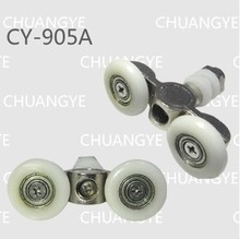 pulley diameter: 23MM shower enclosures shower rollers shower wheels(China)