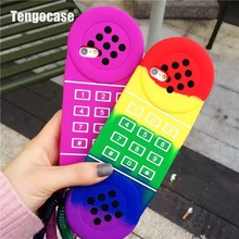 3d cartoon cellular phone case for iphone 8 7 rainbow gel case for iphone 6 6s 7 8 plus soft silicone armor cover lovely girl
