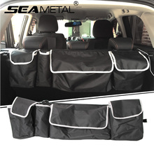 Car Trunk Organizer Bag Storage Box Folding Backseat Universal Multi-function Rear Trunk Tail Suv Truck Auto Stowing Tidying(China)