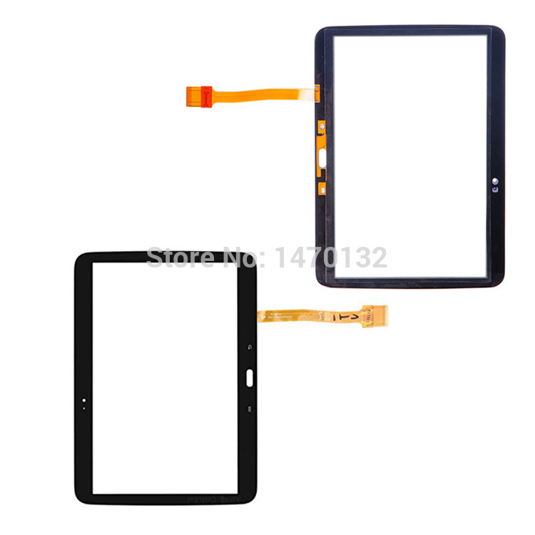 Black Touch Screen Glass Digitizer For Samsung Galaxy Tab 3 10.1 P5220 Repair Replacement Part<br><br>Aliexpress