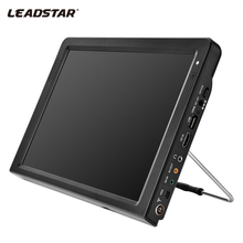 LEADSTAR DVB-T-T2 12.1 Inches Rechargeable Digital Color TV Television Player TFT-LED Screen Portable TV Car TV Free Shipping