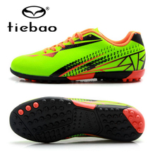 TIEBAO Professional Soccer Shoes Children, Kids Outdoor Sports TF Turf Soles Sneakers Teenagers Soccer Cleats Football Boots