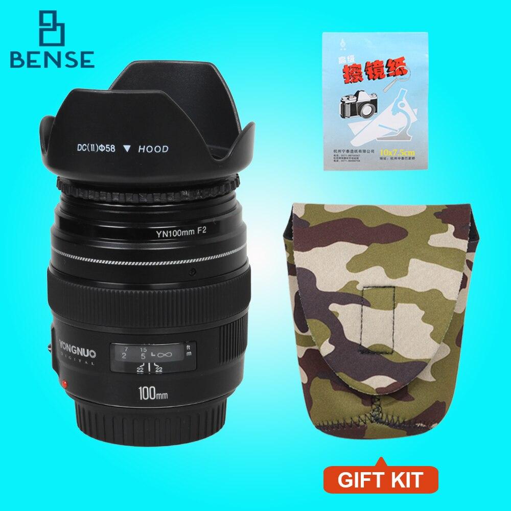 NEW Yongnuo YN100mm F2 Medium Telephoto Prime Lens...