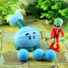14 Style Hot Popular Game Plants Zombies Peashooter PVC Action Figure Model Toys 1 Set Funny Toy Gift!