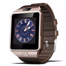 Sport wearable dz09 Bluetooth camera smartwatch fashion black telephone watch for men women(China)