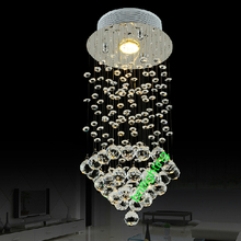 Hanging Crystal Ball Ceiling Stair Lamp for Decoration luxury crystal pendant light  LED Crystal Light  Hanging Lighting Modern