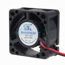 Gdstime 5 Pcs/lot 5V 4020s DC Fan 40mmx40mmx20mm 2Pin 4cm Brushless PC Computer CPU VGA Heatsink Cooling Cooler(China)