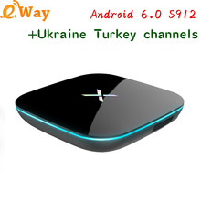 Smart Android TV Box 2G+16G TV Receivers Arabic IPTV subscription 1 Year IUDTV Account Europe IPTV Turkey USA channel IPTV Box
