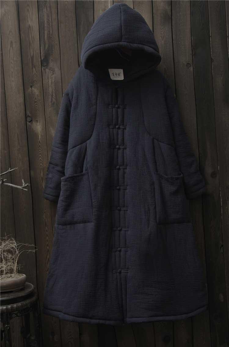 female winter hooded cape (8)