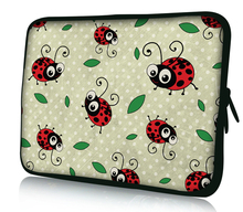 "AIYINGE Beetle Print PC Computer Netbook Neoprene Laptop Bag Cases Notebook Sleeve Cover 10'',12"",13"",14"" ,15"" &17"" Inch Tablet"