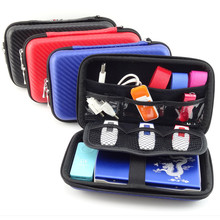 2.5 inch  Hard Drive bag Storage case for  External  hard disk Electronics Cable Organizer Portable HDD Case storage box GH1501