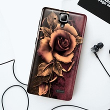 Cases for Lenovo A536 Cell Phone Cover Softlyfit Embossment Flexible TPU Mobile Fundas for Lenovo A 536 Protective Shell