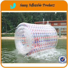 2017 summer latest craze inflatable water roller ball, inflatable ball person inside(China)
