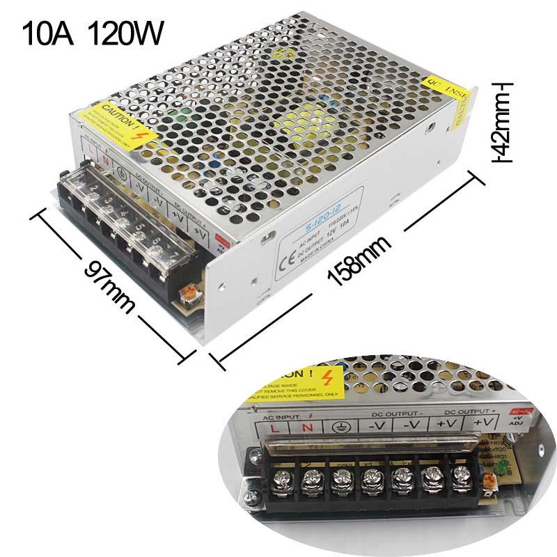 10A 120W Power supply