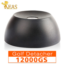 12,000GS Golf Detacher Black Security Tag Detacher Mini Tag Remover EAS System Plastic Housing Use For Supermarket etc