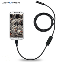 DBPOWER Endoscope 8.5MM 5M Waterproof IPX67 USB Surveillance Cellphone Borescope Video Tube Mini Cam for Laptop Android with OTG