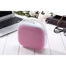 JKR 3306 High Quality HIFI Bluetooth Speaker Handbag Shape Wireless Stereo Portable Bluetooth Boombox Super Bass Free Shipping(China)