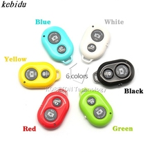 kebidu 2015 WIFI Wireless Bluetooth Remote Shutter Camera Shutter Selfie Self-timer Self Timer for iPhone for Samsung Android(China)