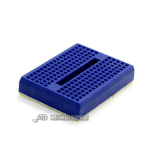 SYB-170  Blue bread board  test board  color small breadboard 35X47mm imported materials