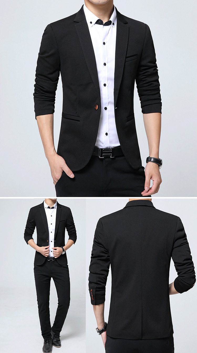 17 Autumn Fashion slim fit Mens blazer Burst models high quality Suit Jacket for Men free delivery Male blazers size 4XL 5XL 9