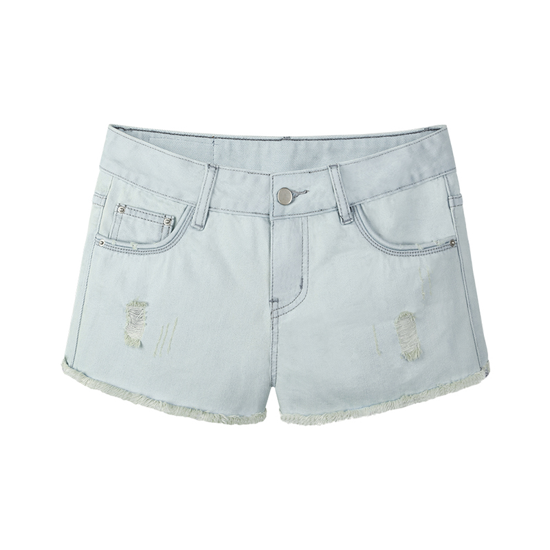 2017 New Summer Fashion Short Jeans Women Waist Denim Shorts Frayed Hole Female  Flash Shorts Size S M L XL XXL Slim Was ThinОдежда и ак�е��уары<br><br><br>Aliexpress