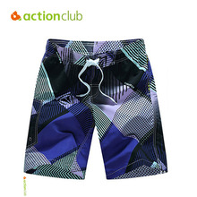 Actionclub 2016 Brand New Swimwear Male Summer Beach Short Print Brand Clothing Board Shorts Beach Surf Trunks MP913(China)