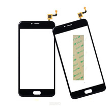 5.2 inch Mobile Phone Touch Panel For Meizu M5 Mini Sensor Touch Screen Digitizer Replacement +3M Sticker(China)
