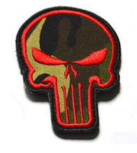 1 pcs US NAVY SEALS Patch logo Embroidered Magic Tape Badge Patch Skull Patches garment Appliques accessory