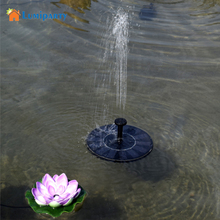 Lumiparty 2017 New Hot Sale 7V Floating Water Pump Solar Panel Garden Plants Water Power Fountain Pool Solar Energy