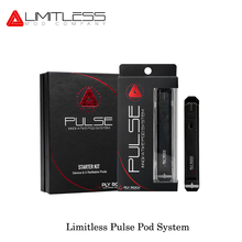 Best Gift Electronic cigarette Limitless Pulse Pod System Vape Pen 2ml pod system 8W 380mah Stop smoking E Cigarettes Cartridge(China)