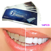 14 Pieces Teeth Whitening Strips Whiter Home Dental Whitening Kit Bleaching Fresh Mint Flavor Oral Hygiene Tooth Cleaning Tool